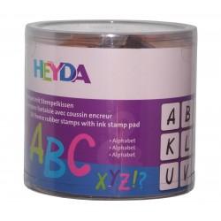 Stemple Alfabet, Heyda