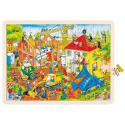 Puzzle Plac budowy, Goki