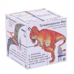 Edukacyjna zręcznościowa gra dla trzylatkaZooBooKoo Dinozaury