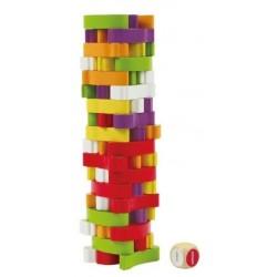 Zabawka drewniana - Warzywna wieża, Hape