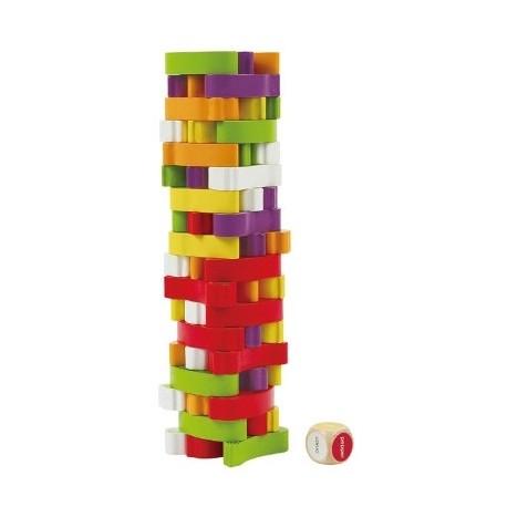 Drewniana zabawka dla dziecka od 3 roku życiaWażywna wieża, Hape