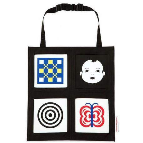 Zabawka dla dziecka do auta - Galeria obrazków w torbie